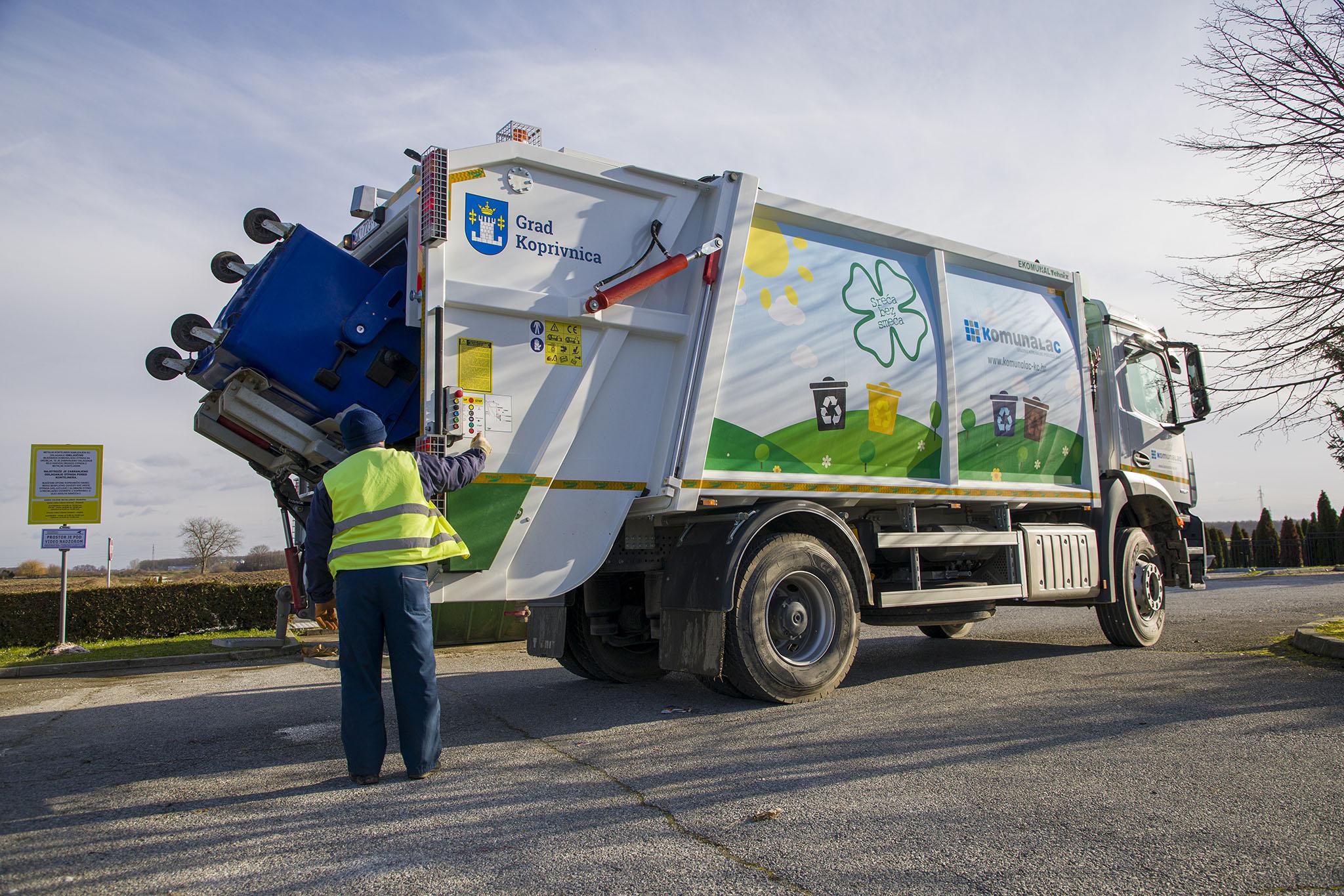 Obavijest o promjeni dana odvoza otpada za 1. siječanj i 6. siječanj 2021.