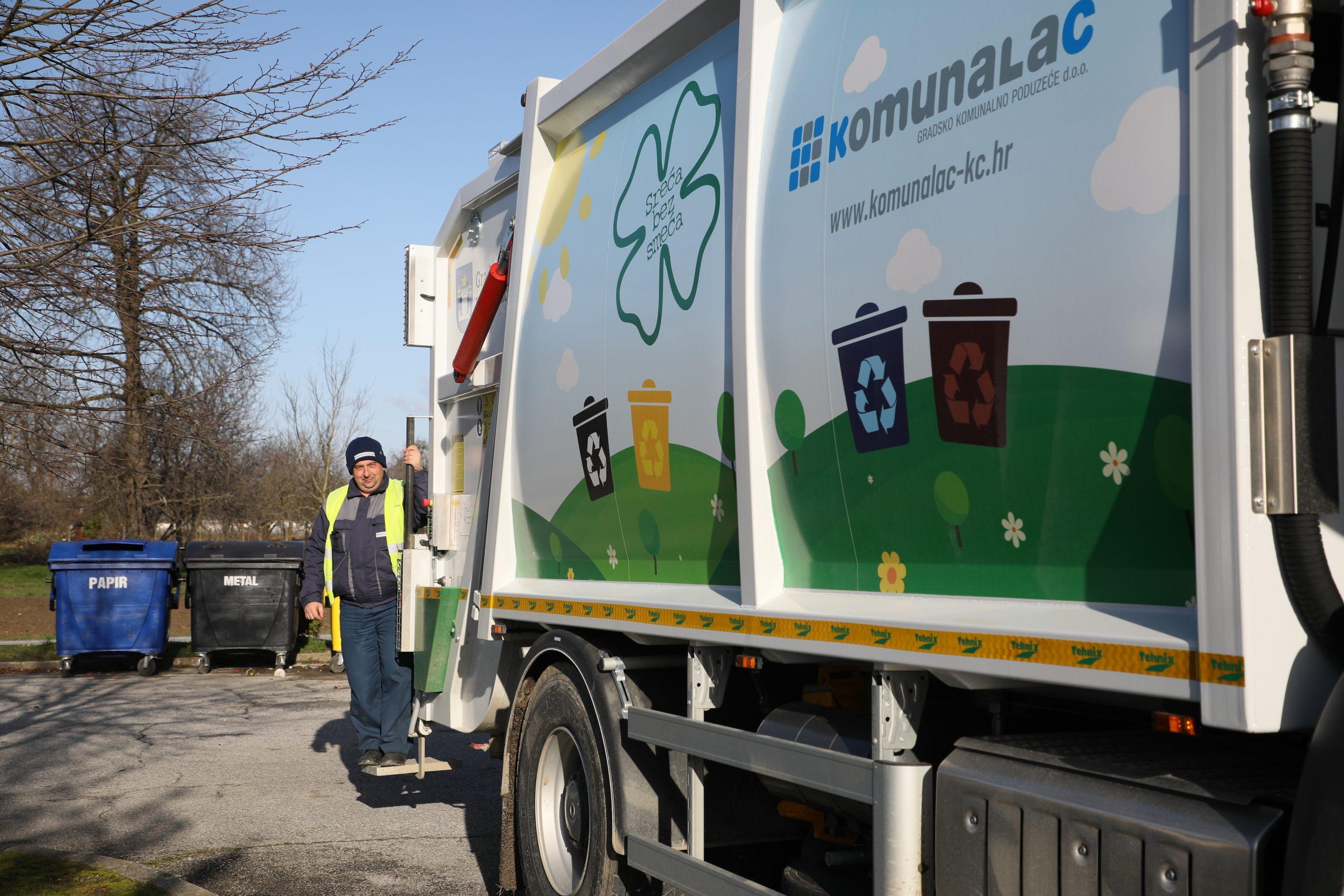 OBAVIJEST o promjeni termina odvoza otpada za Uskrsni ponedjeljak