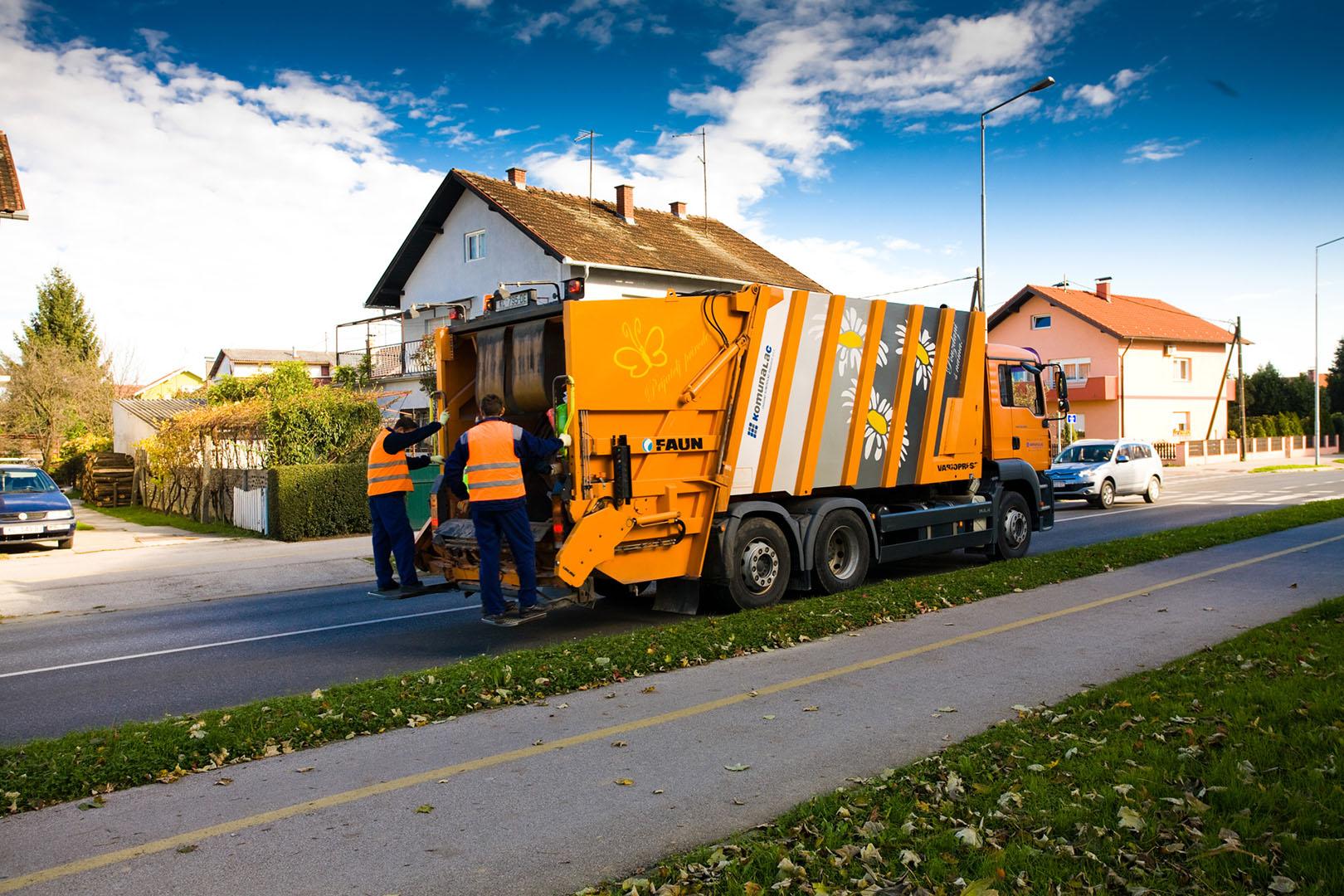 Obavijest o promjeni dana odvoza otpada za 25. prosinac