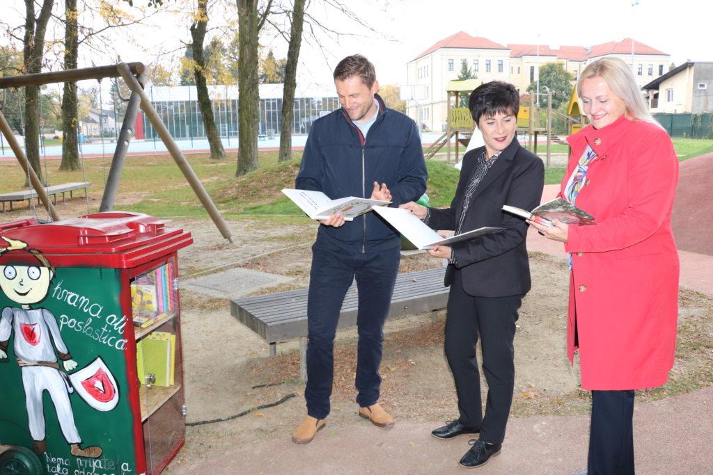 Knjigokantice zasjale u Gradskom parku Koprivnica