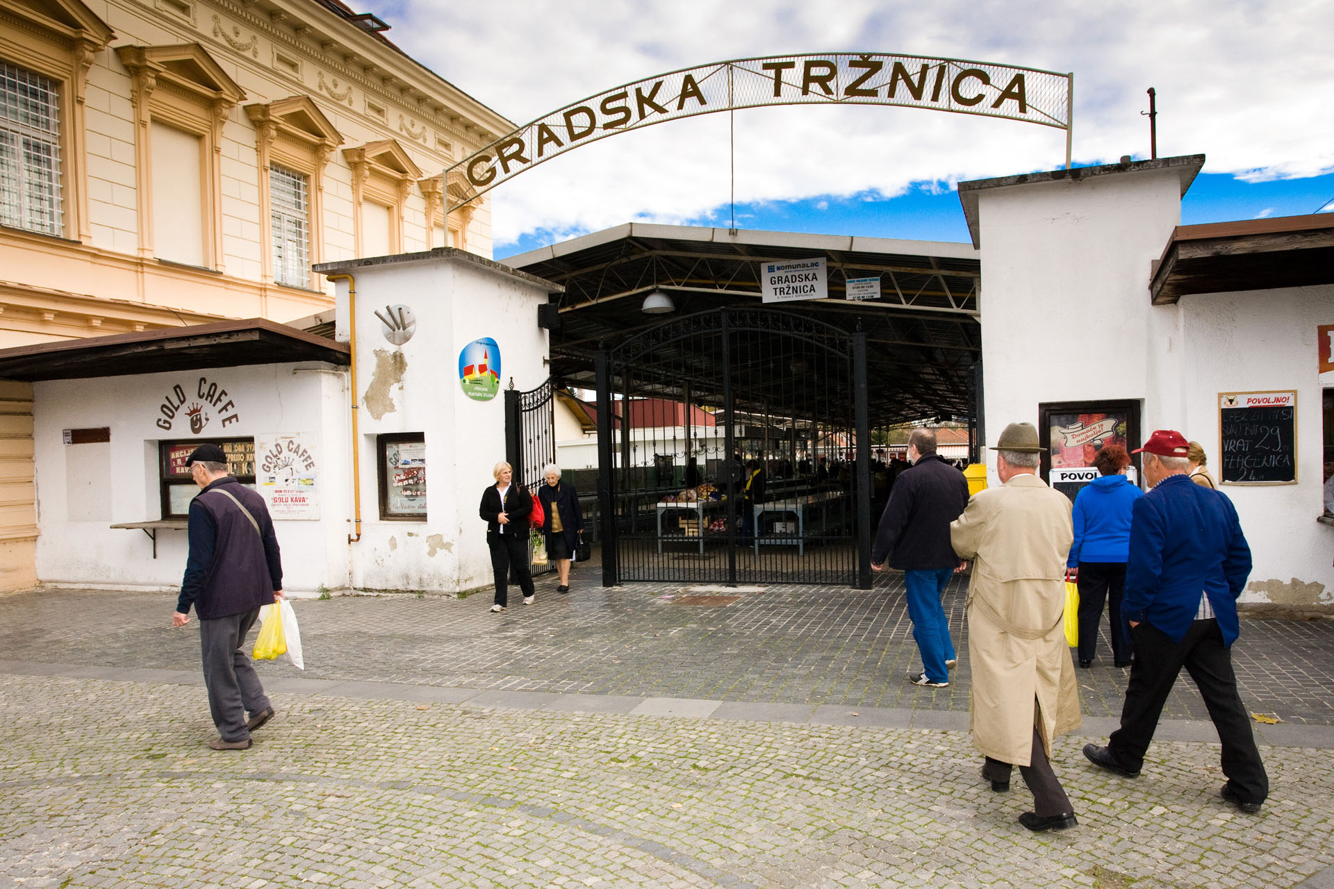 Obavijest zakupcima Gradske tržnice Koprivnica