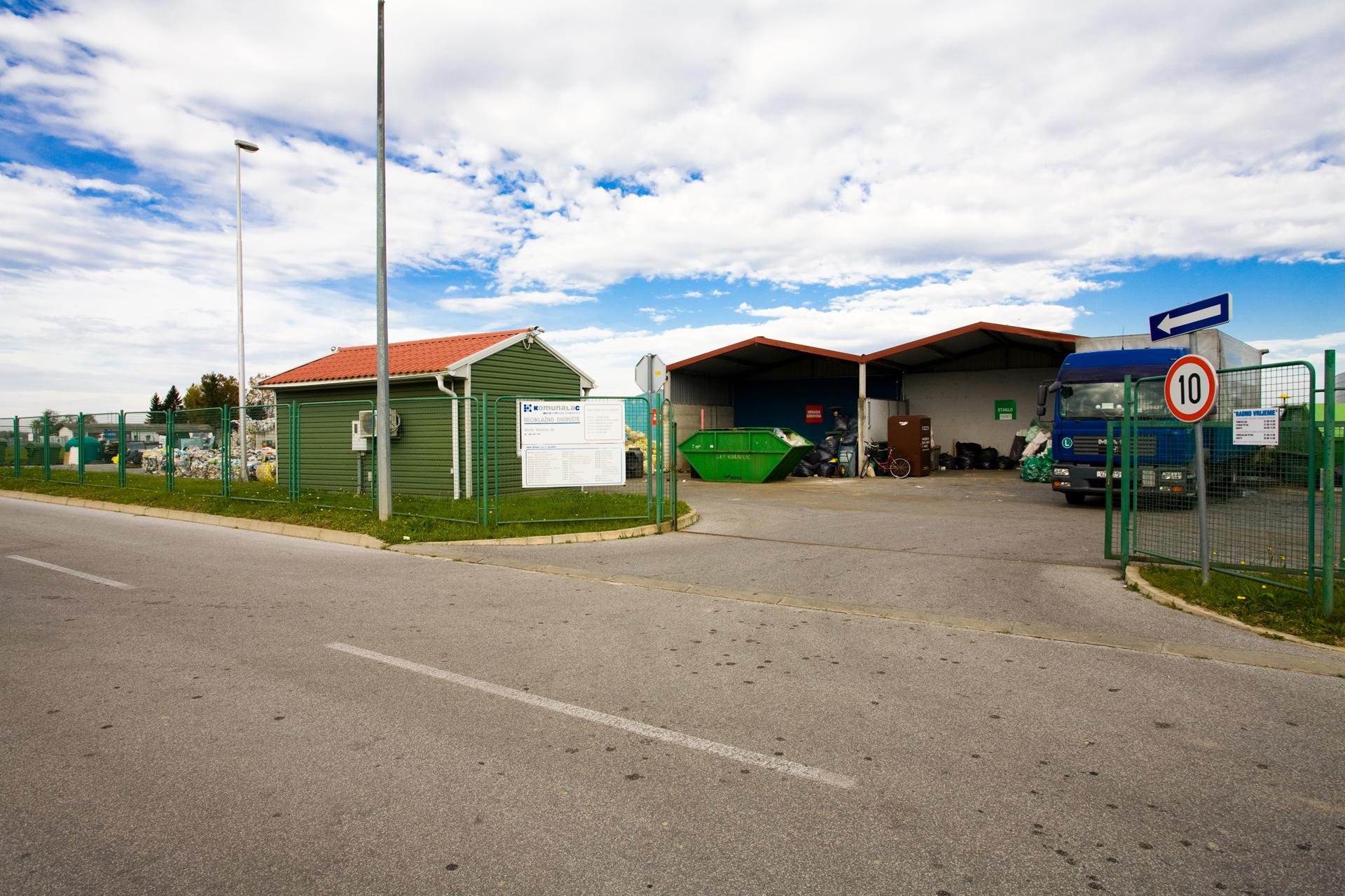Zatvoreno reciklažno dvorište i kompostište
