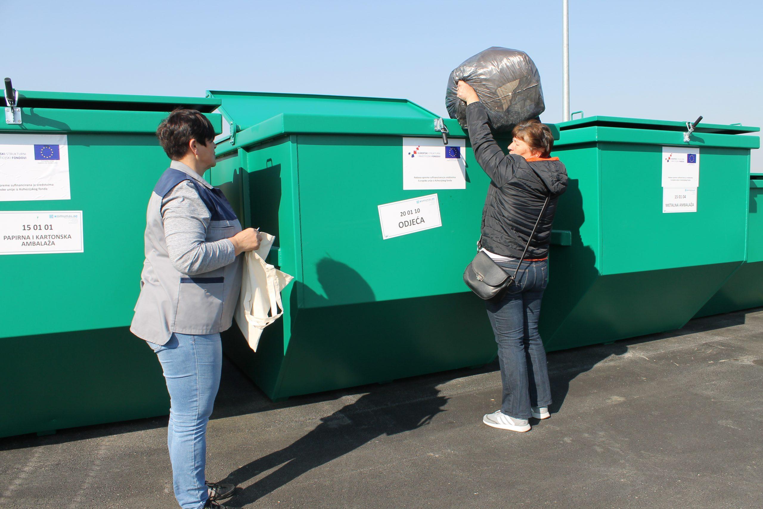 Reciklažno dvorište Herešin od 1. lipnja radi do 18 sati