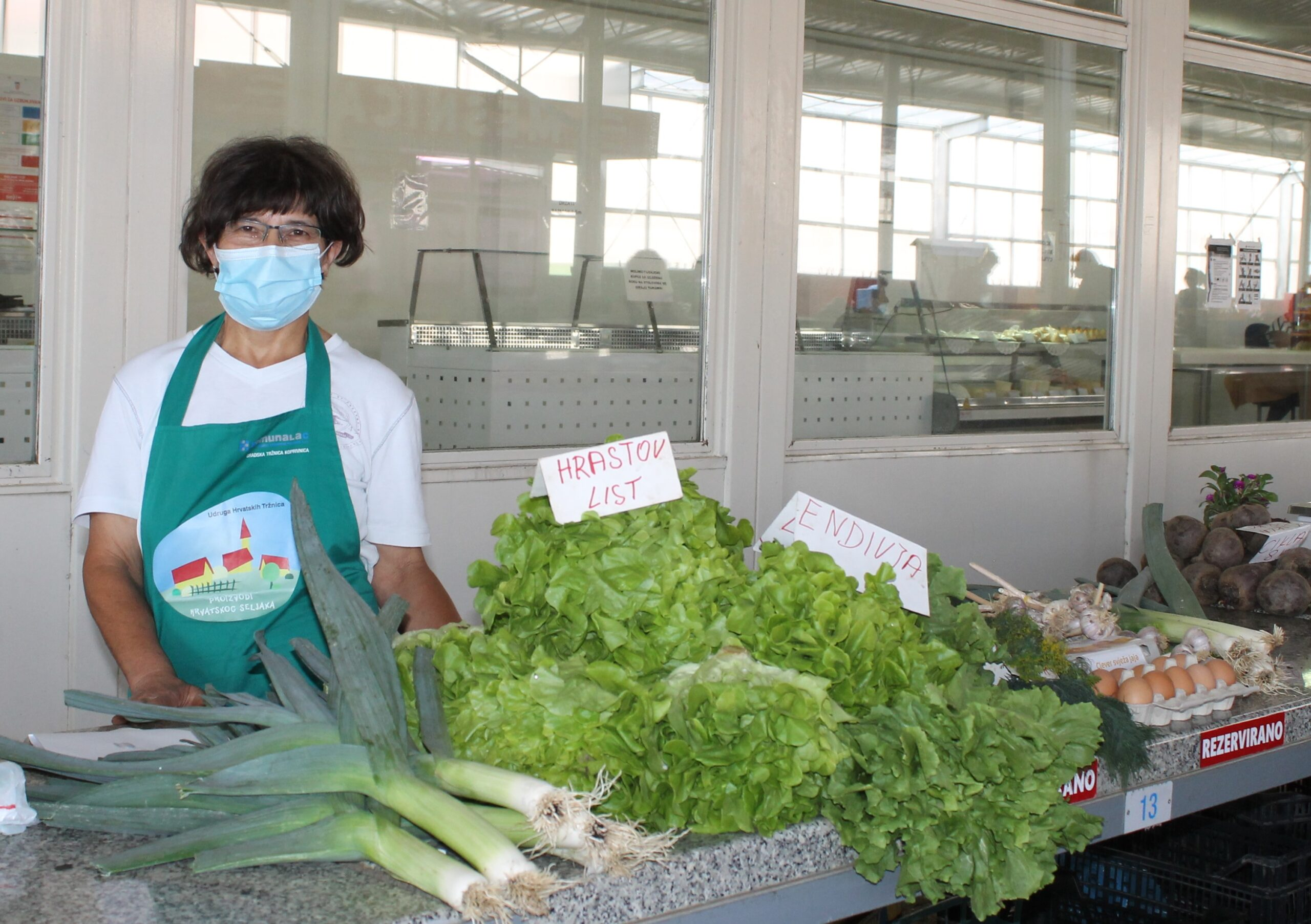 Marija Nekić iz Starigrada dio je koprivničke Gradske tržnice već 20 godina
