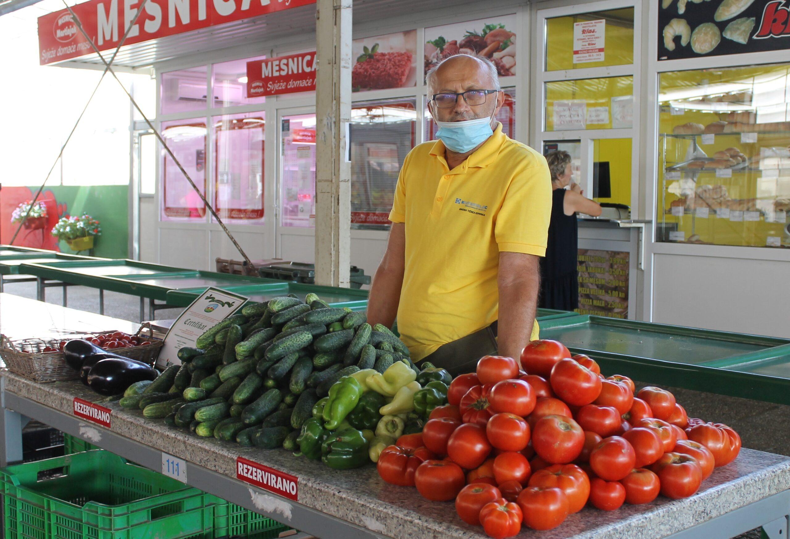 Žarko Dombaj zaštitni je znak koprivničkog placa, a proizvodi OPG-a Dombaj ukusni i kvalitetni