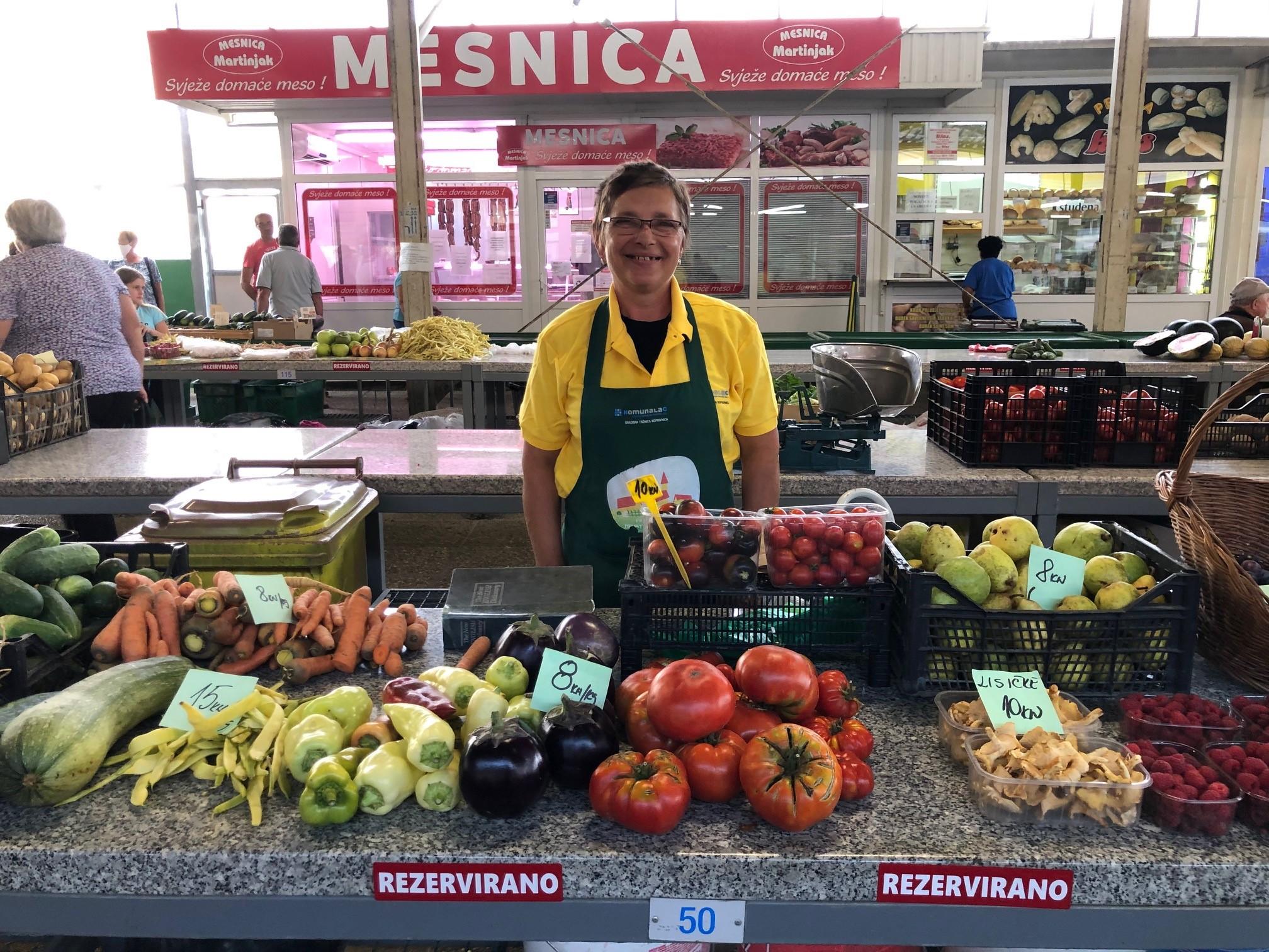 OPG Aida Kosanović na Koprivničkom placu nudi posebne sorte rajčica i Shiitaki gljive