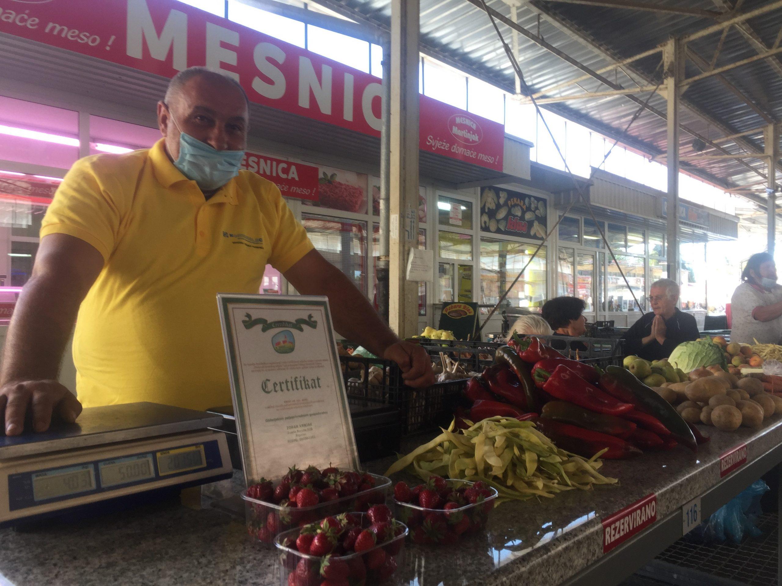 Zoran Krnjak uz svoj posao svaki slobodni trenutak provodi na Koprivničkom placu