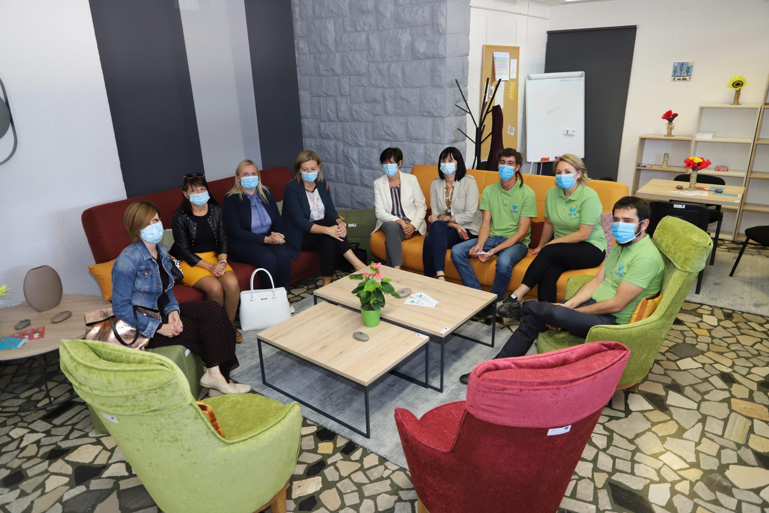 U Domu mladih predstavljen projekt KUPID uz novi Co-Working prostor