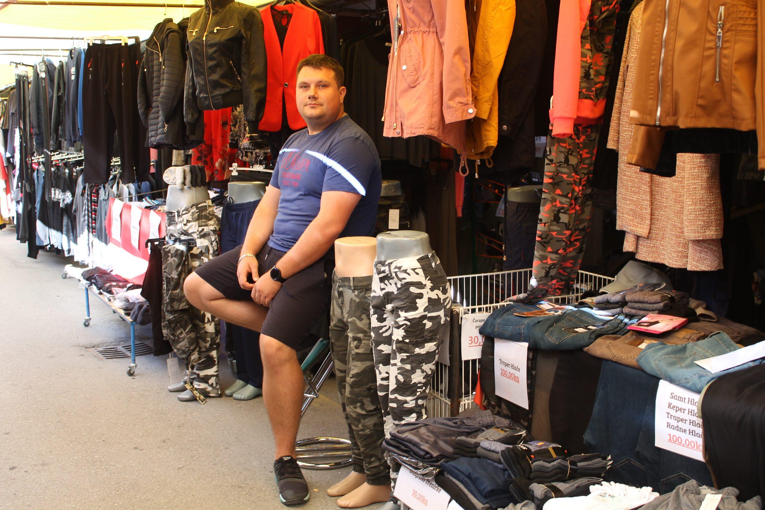 Već 27 godina Obrt Denel na placu nudi kvalitetnu odjeću za sve generacije
