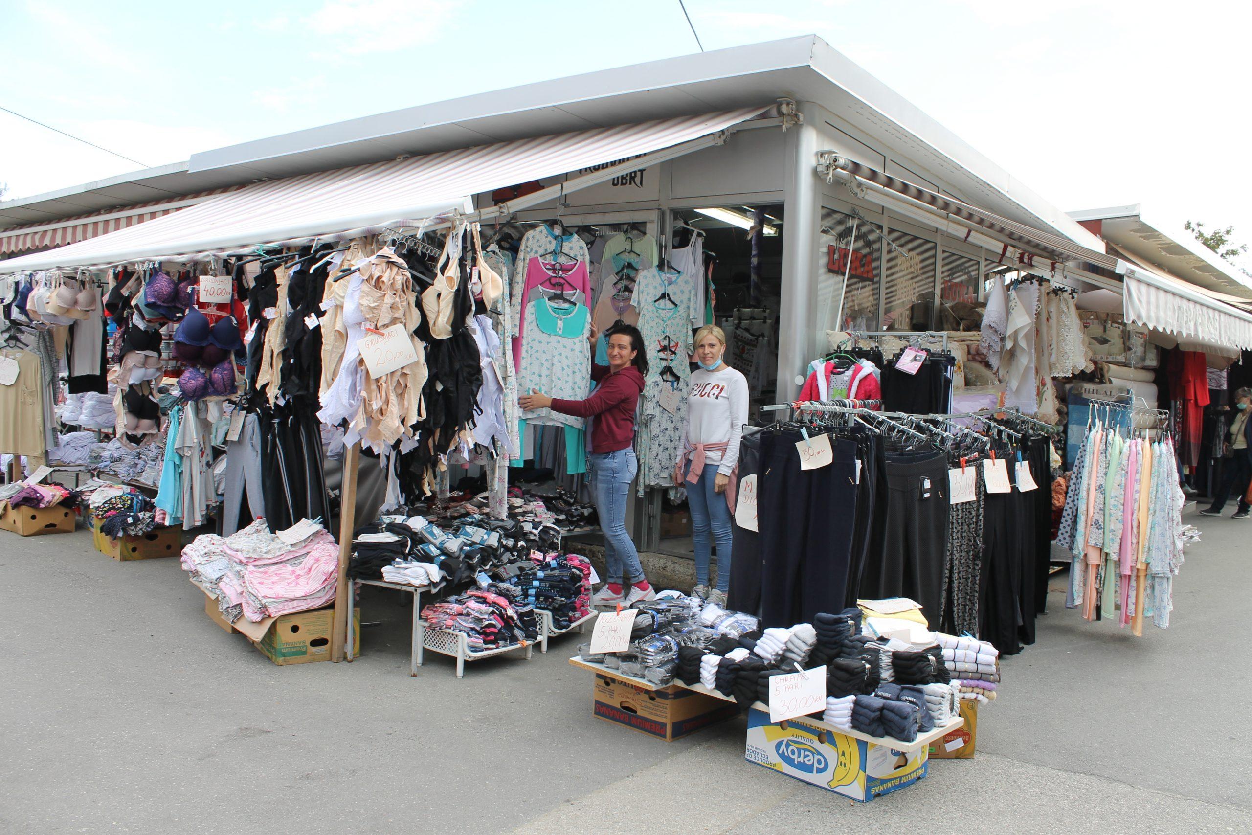 Sve što vam je potrebno od kućnog tekstila na jednom mjestu – Obrt Luka na Gradskoj tržnici