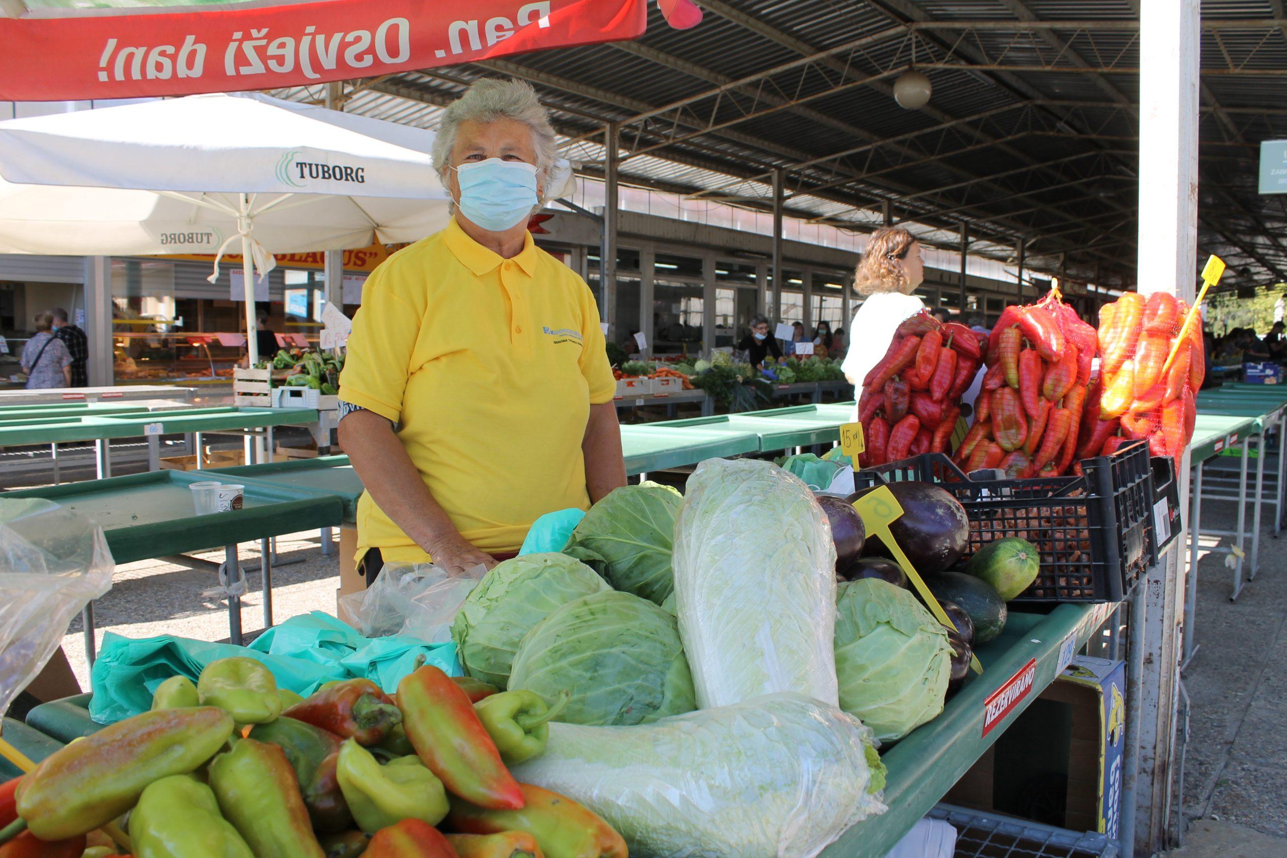 Kineski kupus na podravski način – i toga ima u Koprivnici na placu