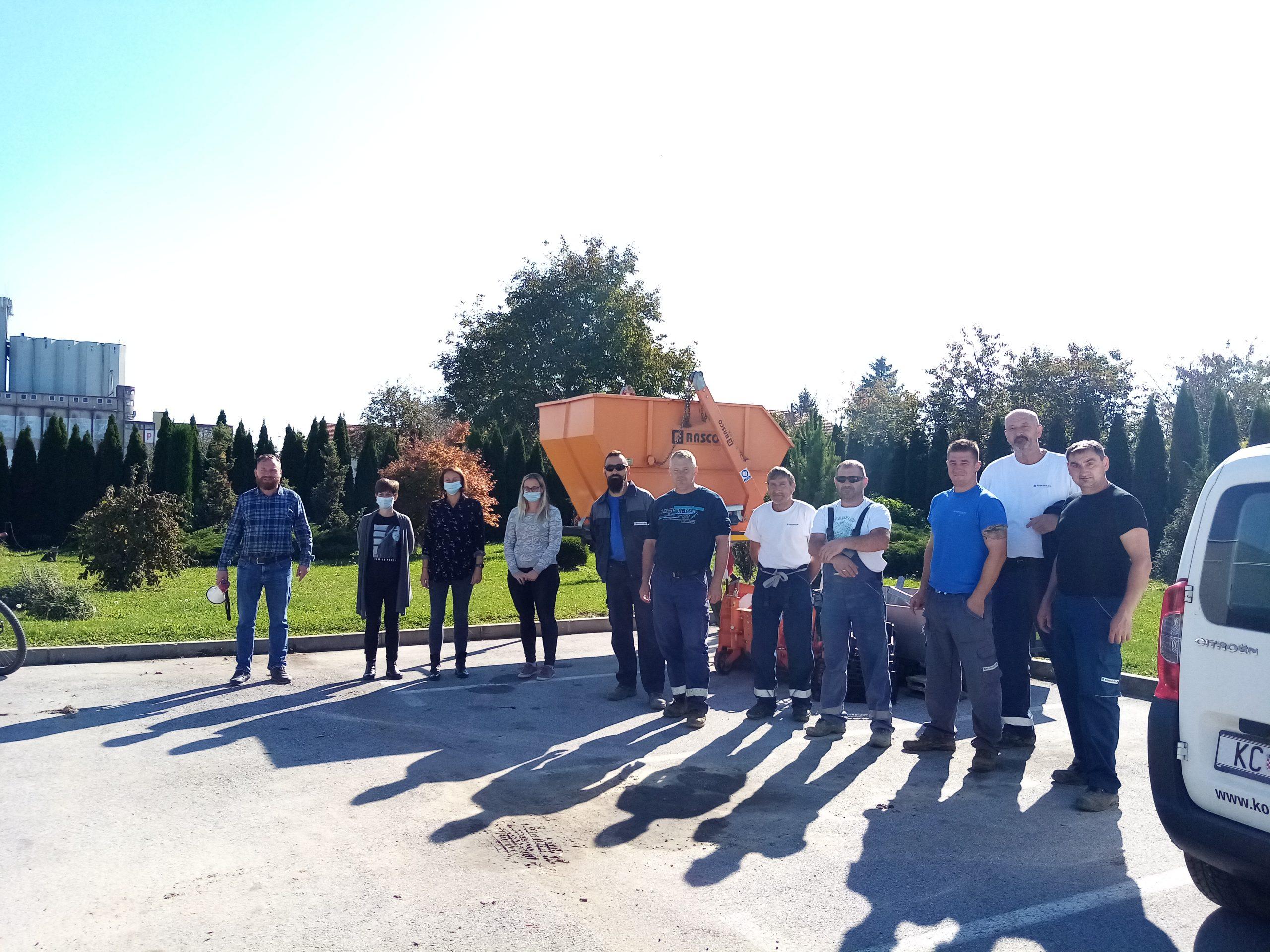 Održana vježba evakuacije na Gradskom groblju