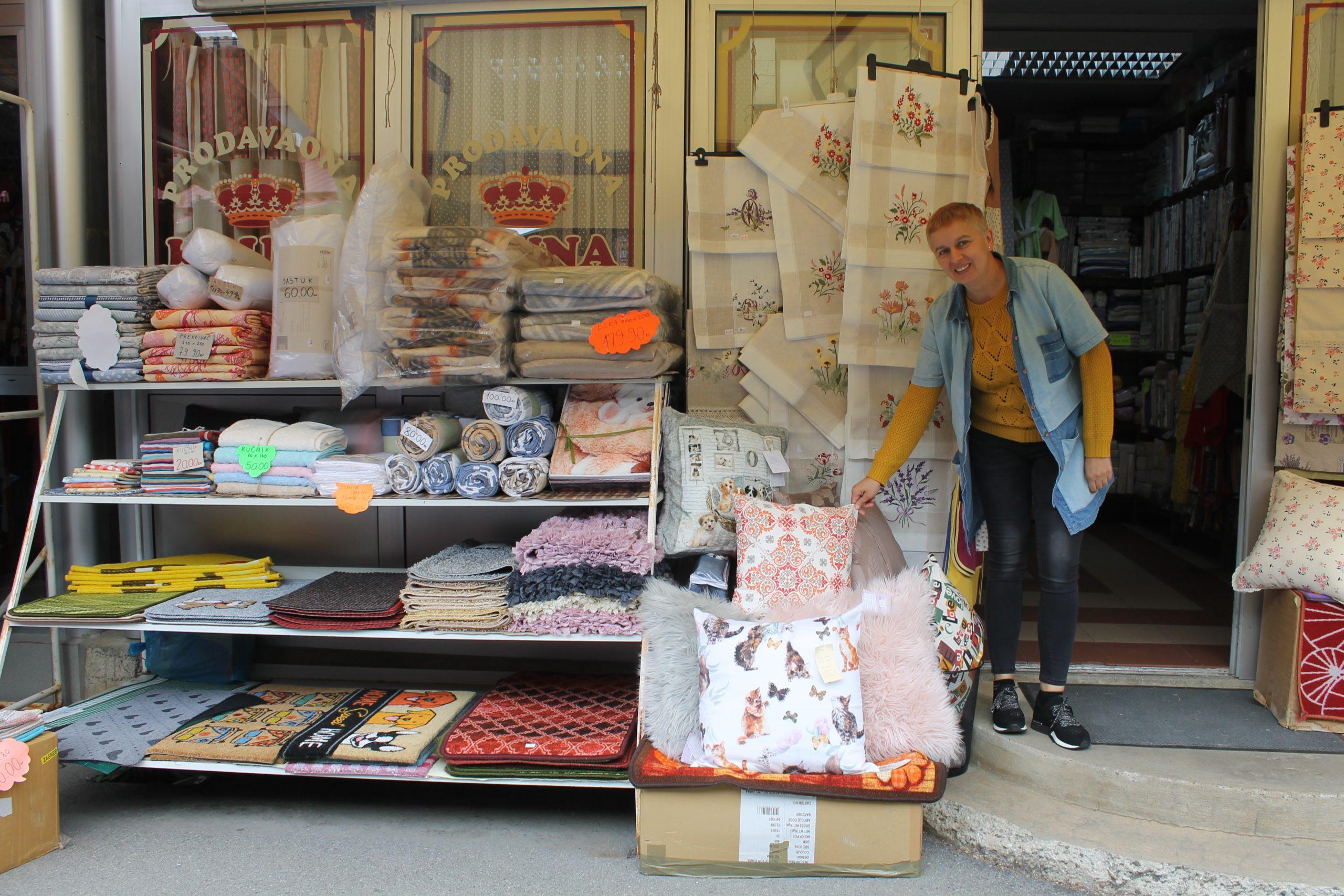Kruna i Bolero nude tekstile za cijelu kuću, a i šivaju po mjeri