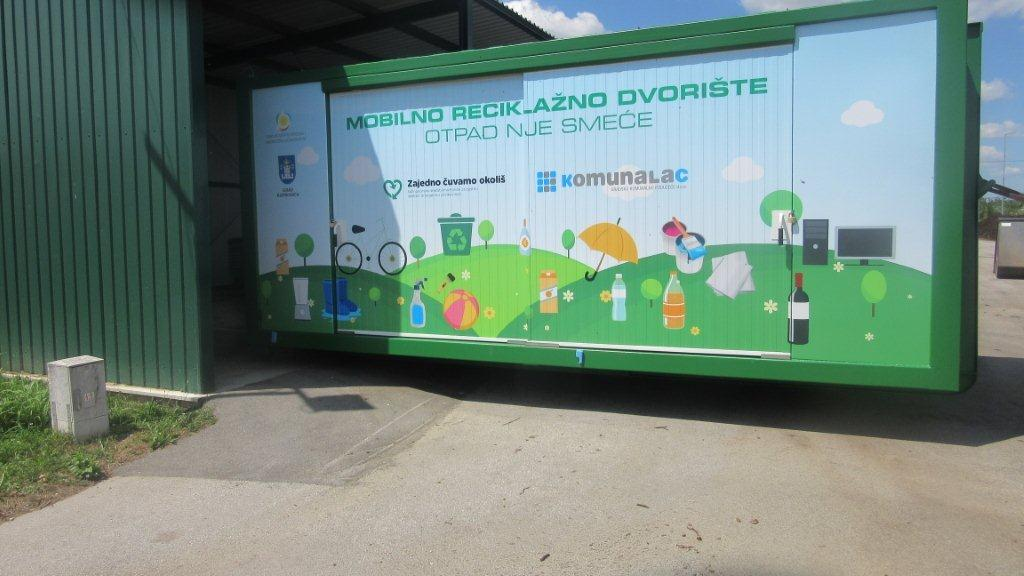 Mobilno reciklažno dvorište u četvrtak, 20. svibnja, nalazit će se u Jagnjedovcu kod vatrogasnog doma