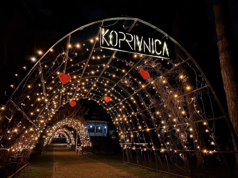 Gradski park Koprivnica u znaku ljubavi