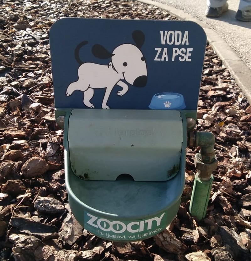 Postavljene pojilice za pse