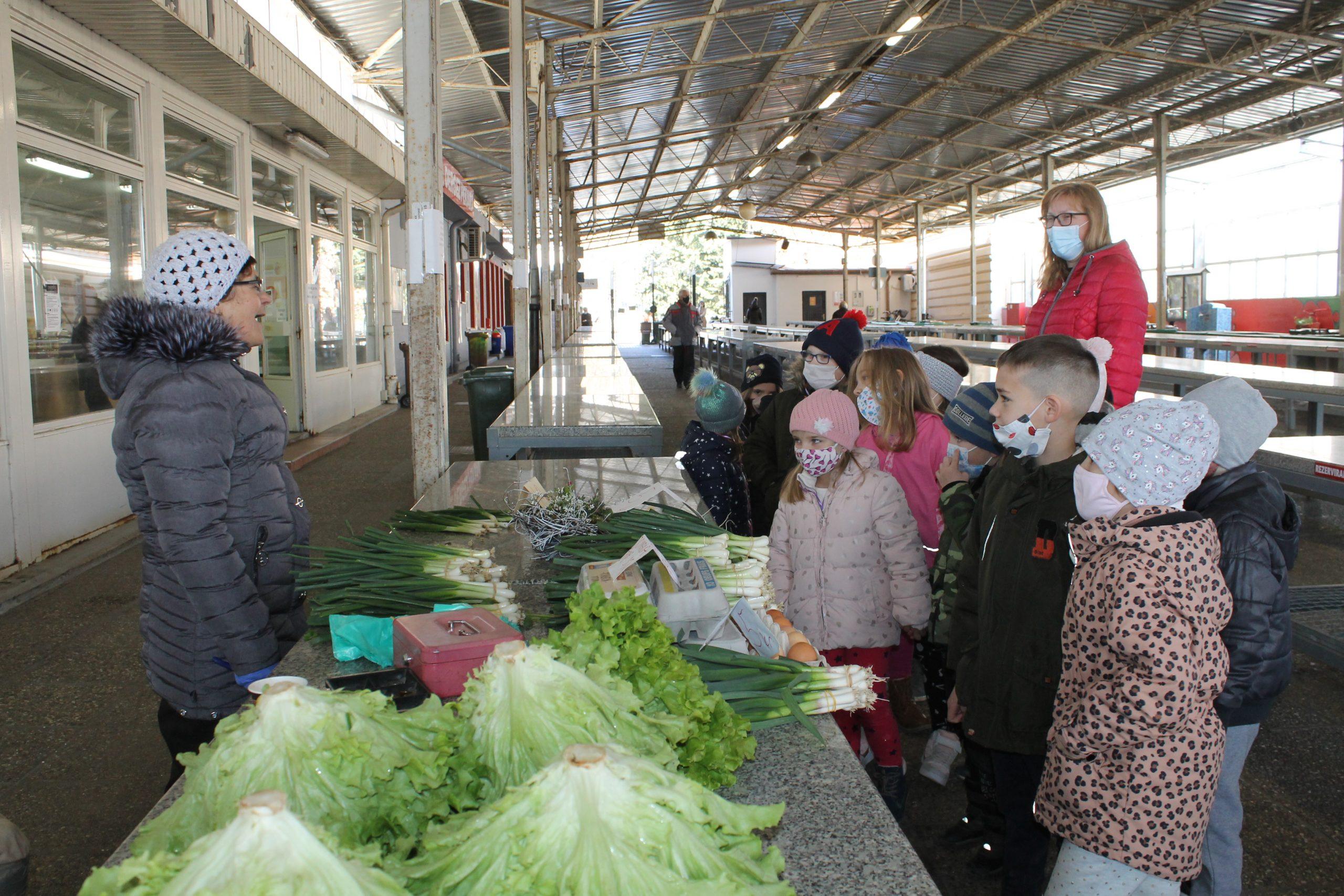 Edukativnom šetnjom tržnicom, obilježili Svjetski dan zdravlja