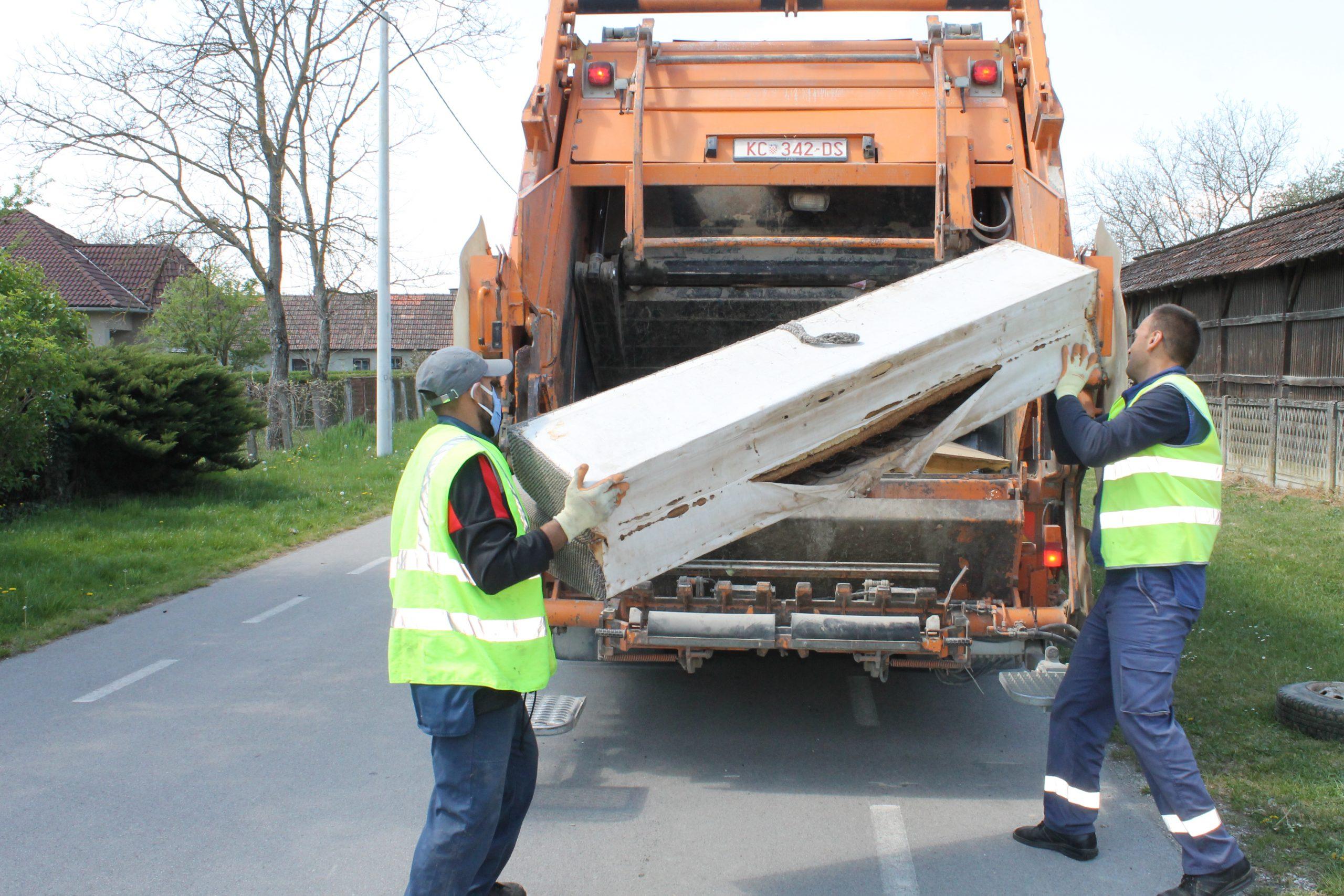 Obavijest o odvozu glomaznog otpada – Đelekovec i Imbriovec
