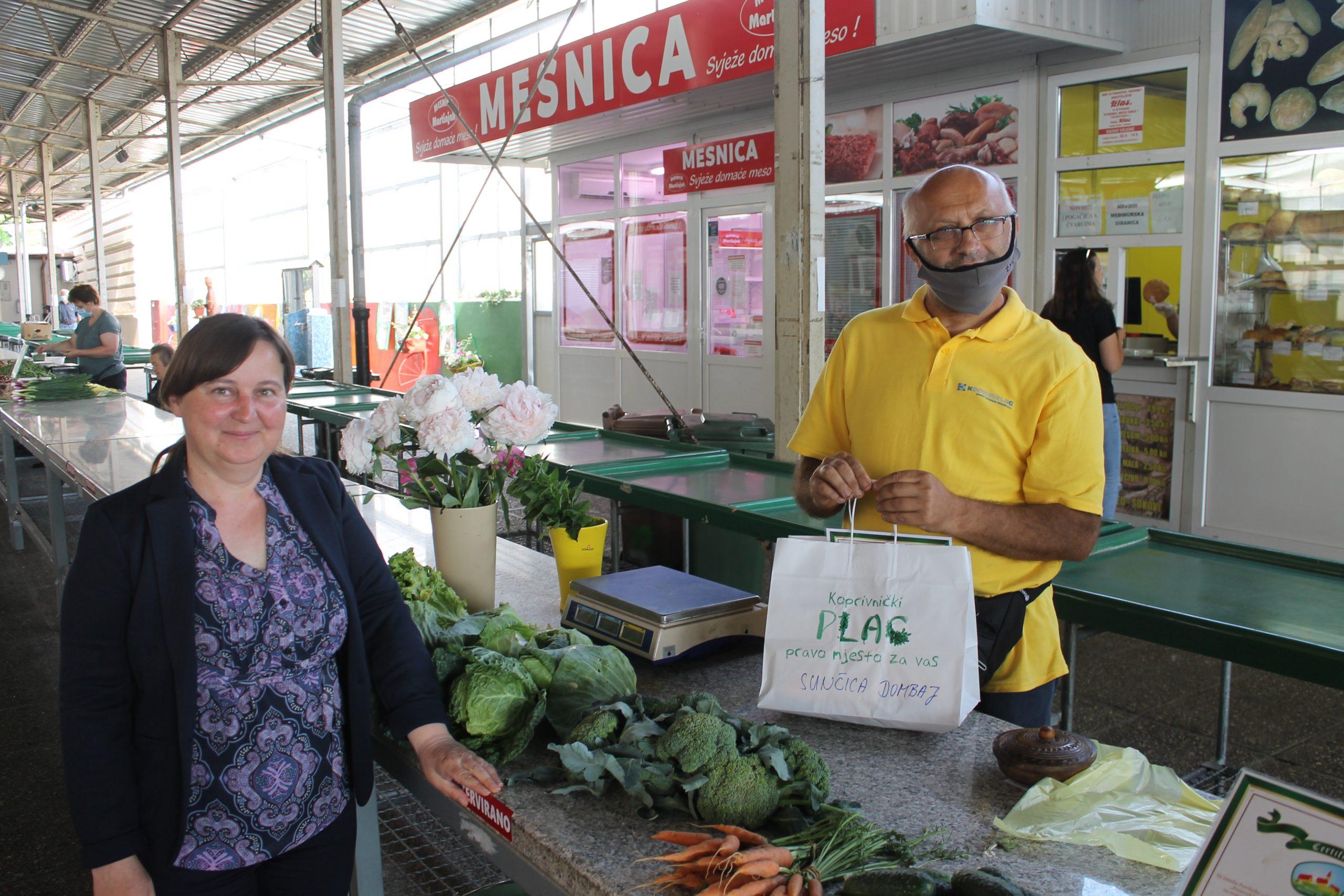 """Na Gradskoj tržnici uručeni certifikati u sklopu projekta """"Certificirana seljačka tržnica"""""""