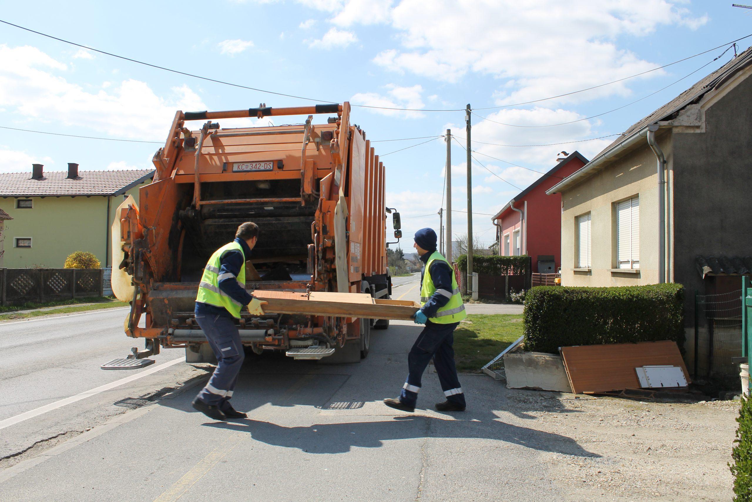 Obavijest o odvozu glomaznog otpada – RAJON 14