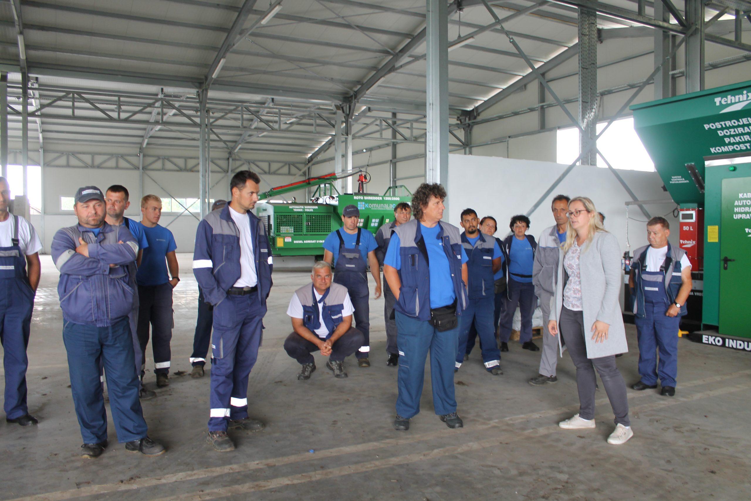 Zaposlenici Sektora zelenih površina obišli Kompostanu Herešin