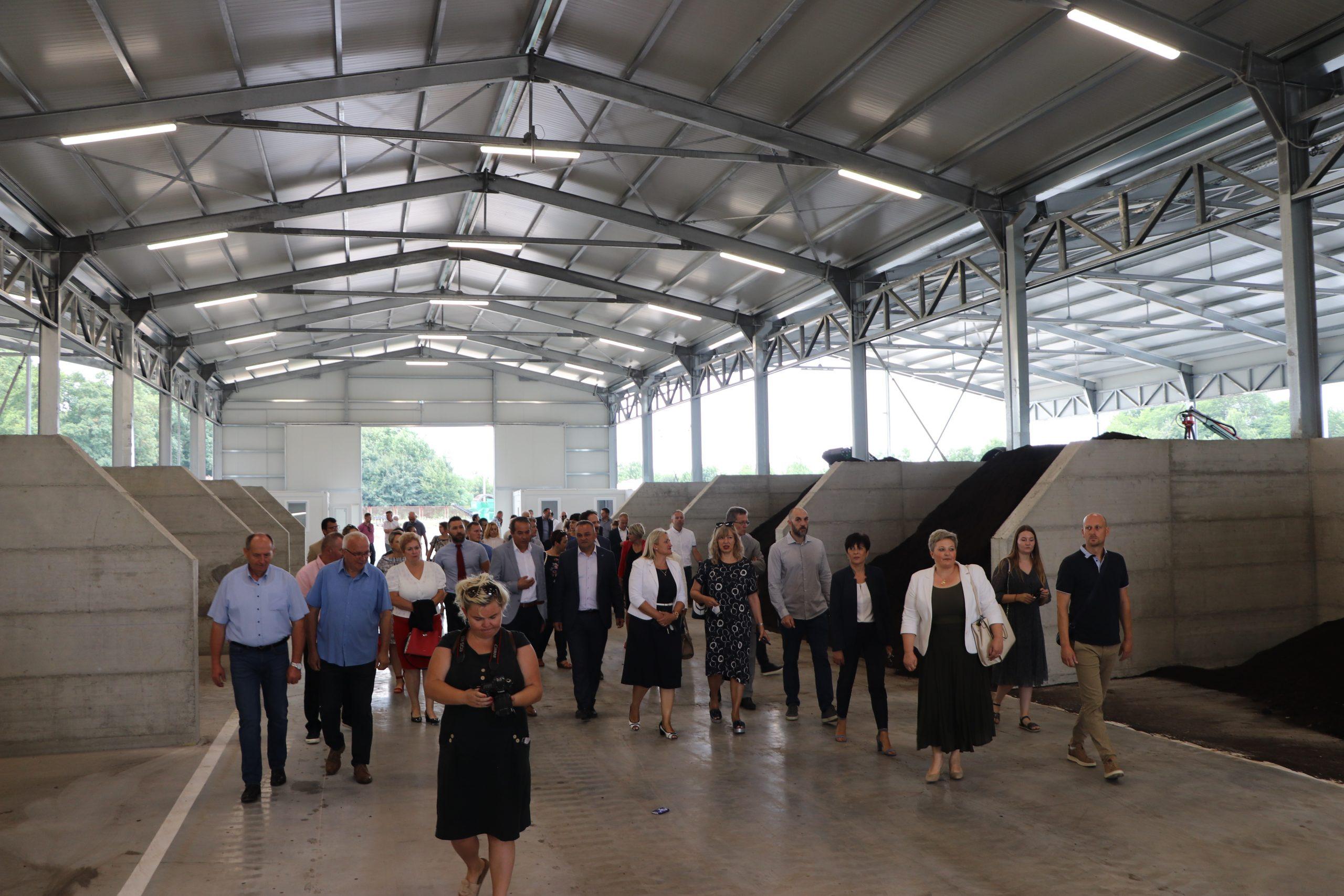 Svečano otvorena i puštena u probni rad Kompostana Herešin – najmodernija kompostana u Hrvatskoj