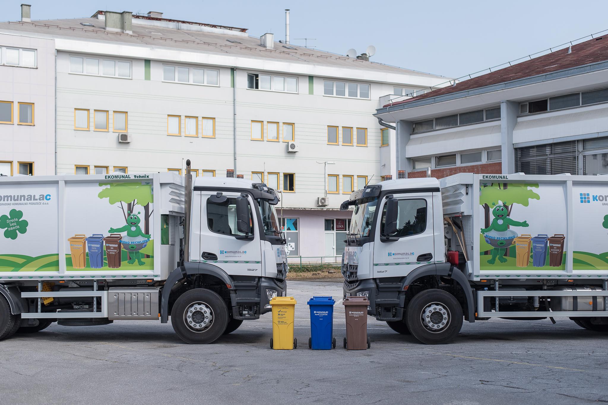 """Održana završna konferencija projekta """"Nabava komunalnih vozila za odvojeno prikupljanje otpada za uslužno područje Komunalca"""