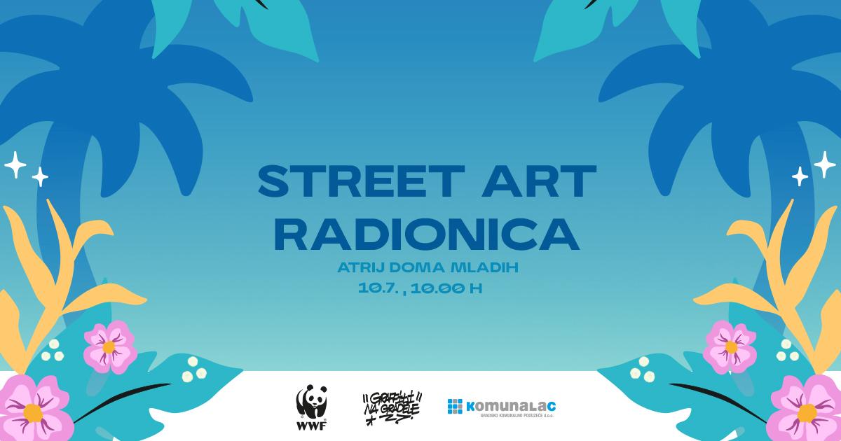 Street art radionica u Domu mladih