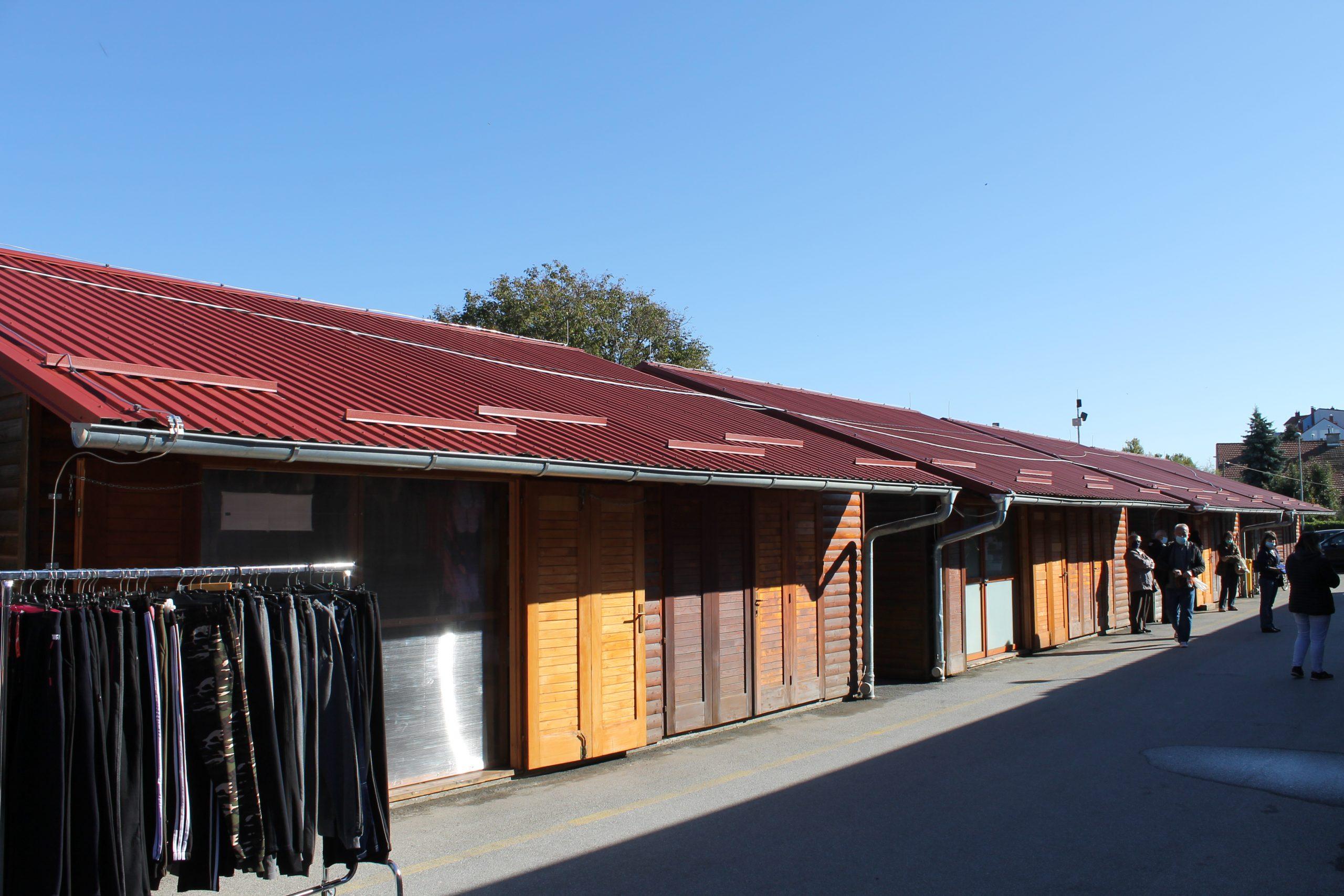 Obavijest o Javnom natječaju za zakup poslovnih prostora – drvenih štandova zatvorenog tipa na Gradskoj tržnici u Koprivnici