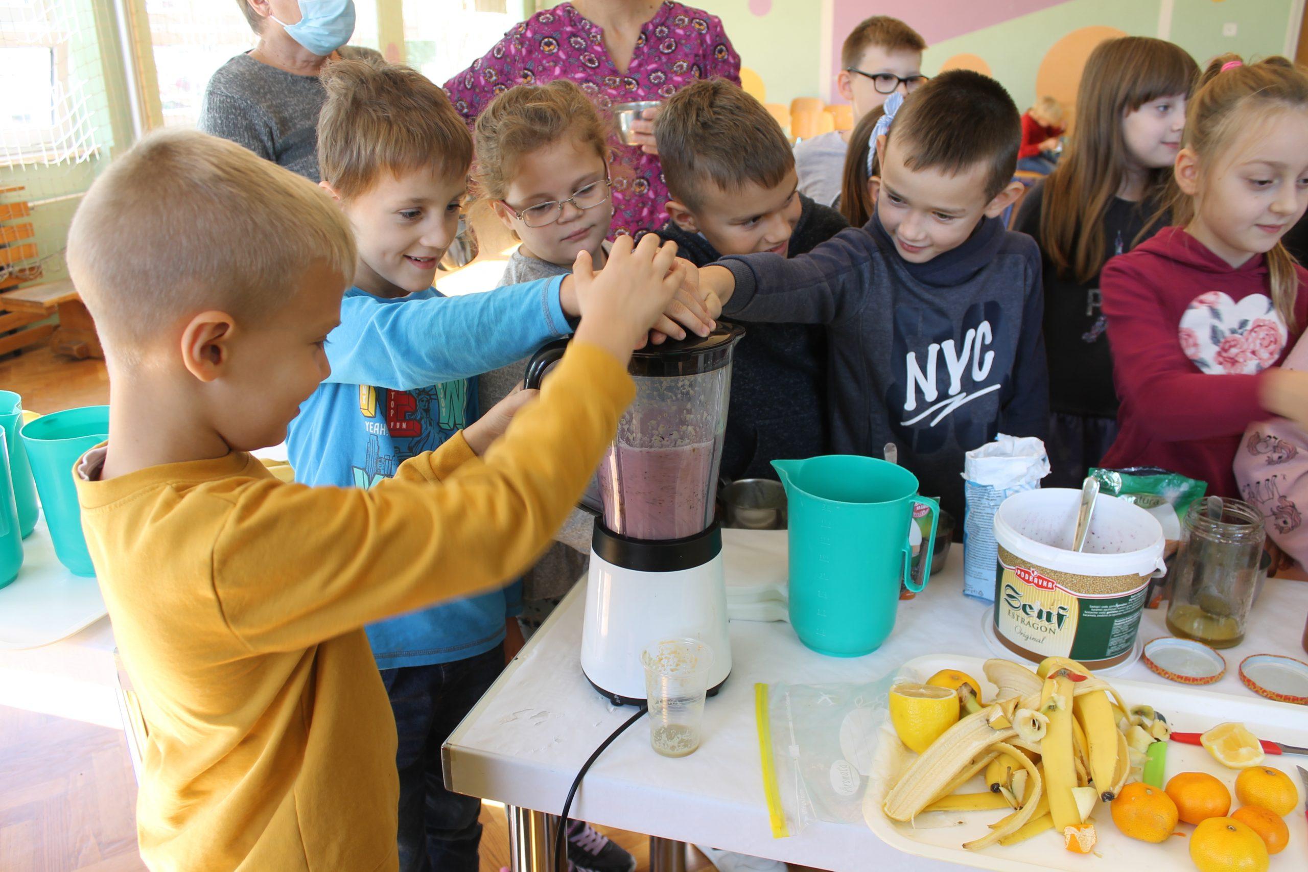 Tjedan školskog doručka u OŠ Đuro Ester